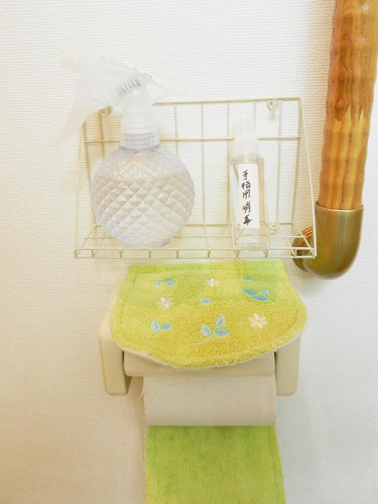 トイレ用消毒スプレー